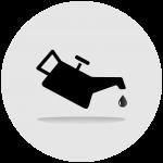 Odolnost vůči olejům, benzínům a kyselinám